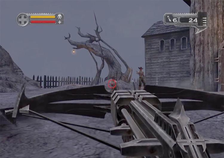 DarkWatch gameplay on PS2
