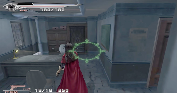 Vincent in Dirge of Cerberus: Final Fantasy VII