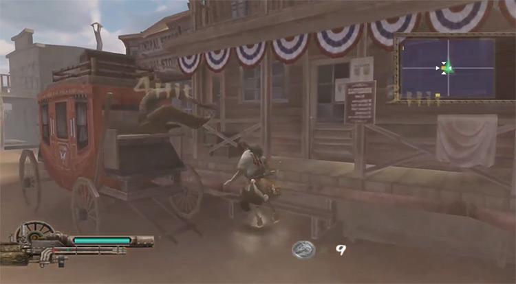 Samurai Western Gamelay PS2