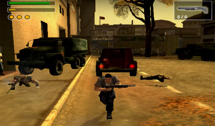 PS2 gameplay Freedom Fighters