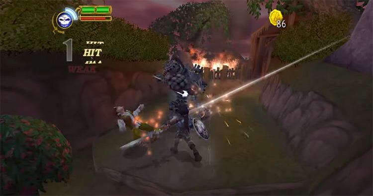 Maximo vs. Army of Zin Gameplay screenshot