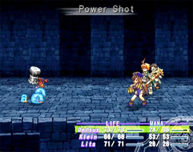 Power Shot in Atelier Iris: Eternal Mana Game