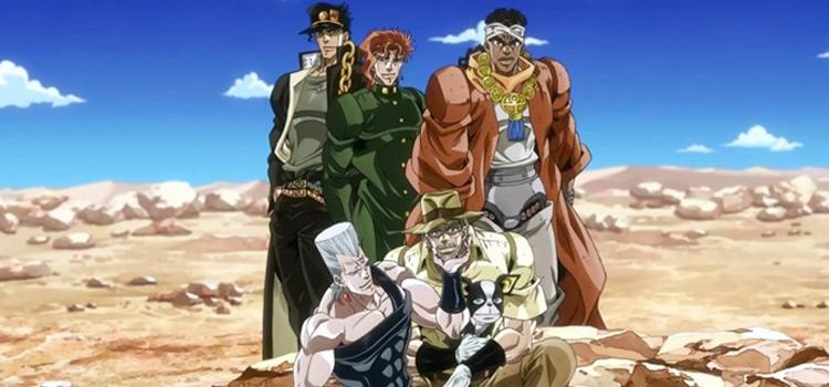 JoJo Bizarre Adventure Desert screenshot