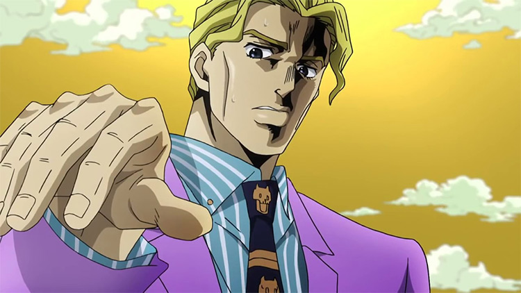 Yoshikage Kira JoJo's Bizarre Adventure anime