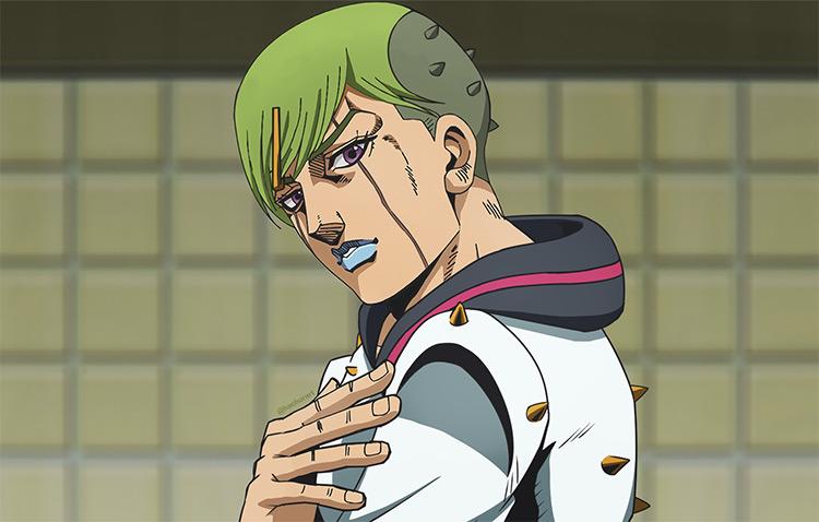 Jobin Higashikata JoJo's Bizarre Adventure screenshot