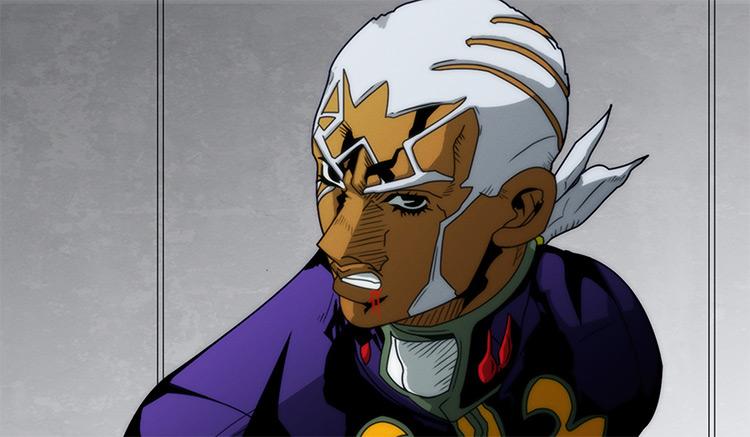Enrico Pucci JoJo's Bizarre Adventure anime