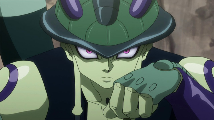 Meruem Hunter x Hunter anime screenshot
