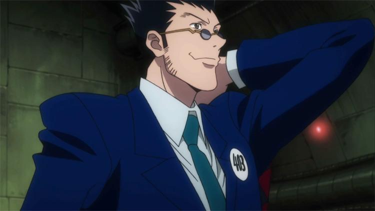 Leorio Paladiknight Hunter x Hunter anime