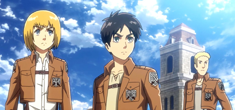 Attack on Titan characters screenshot