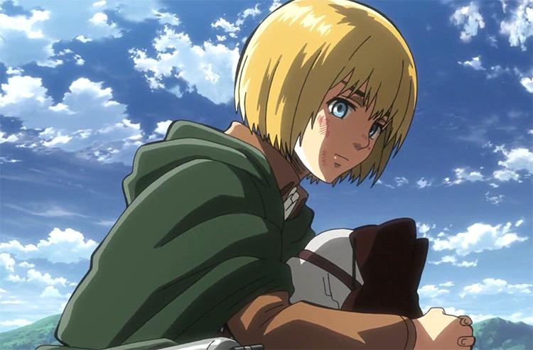 Armin Arlert from Attack on Titan anime