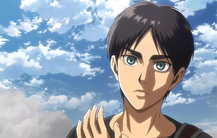 Eren Yeager Attack on Titan anime screenshot