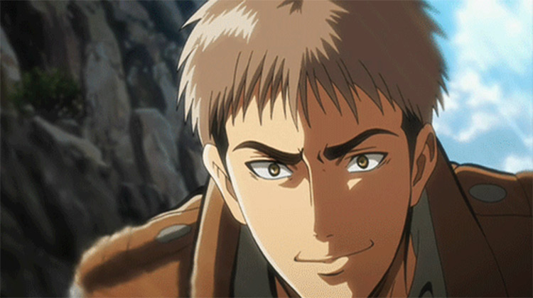 Jean Kirstein from Attack on Titan anime