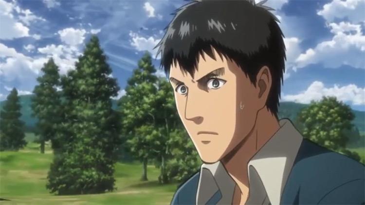 Bertolt Hoover from Attack on Titan anime