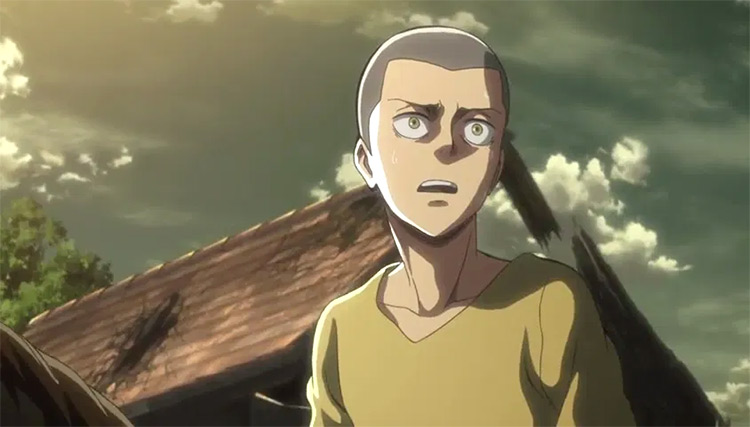 Connie Springer from Attack on Titan anime