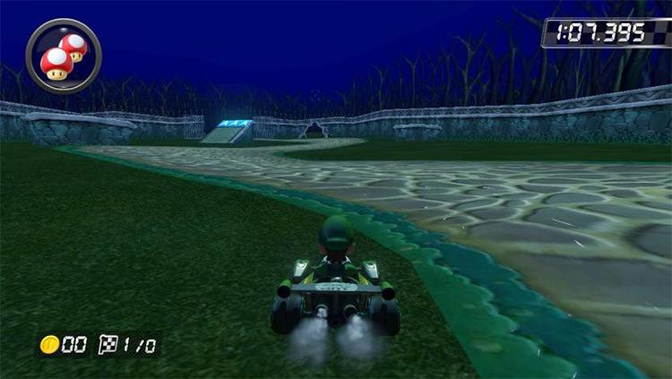 Luigi's Mansion CT MK8 mod