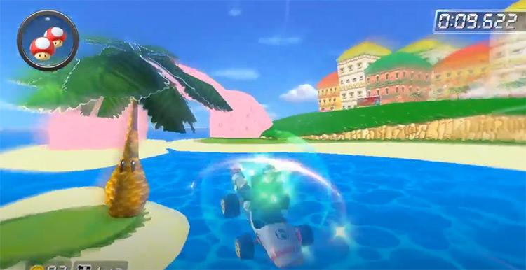 GCN Peach Beach map mod