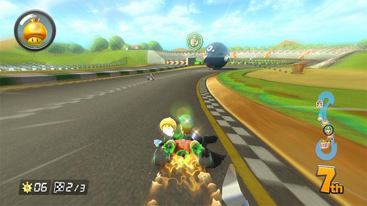 Luigi Circuit from Double Dash Map Mod