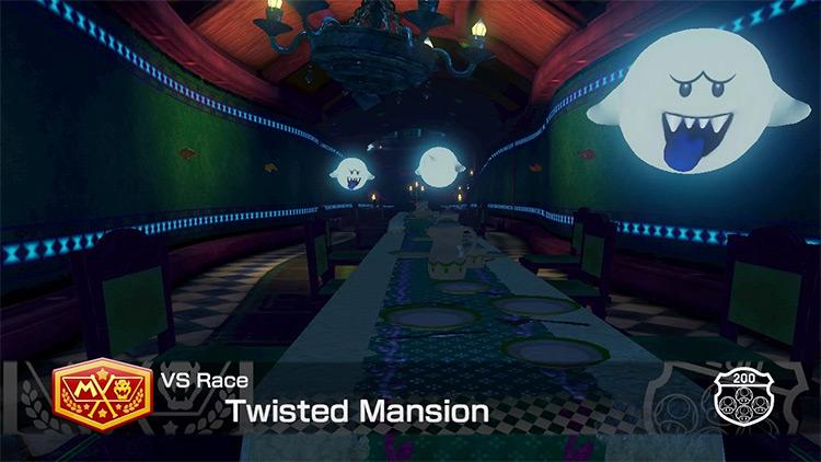 Nightshade Mansion for Mario Kart 8
