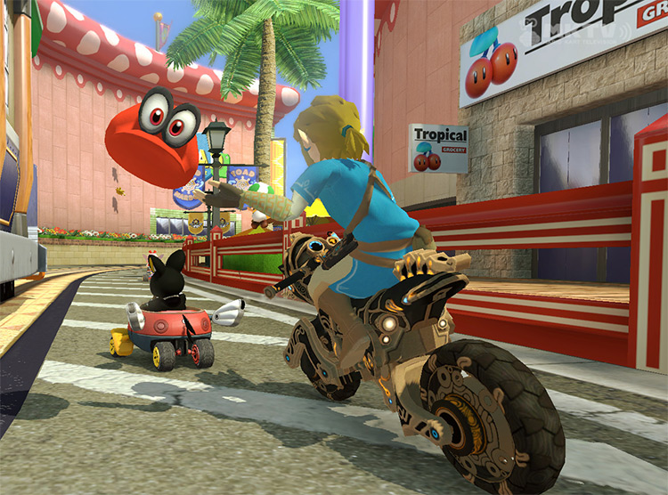 Cappy added into Mario Kart 8
