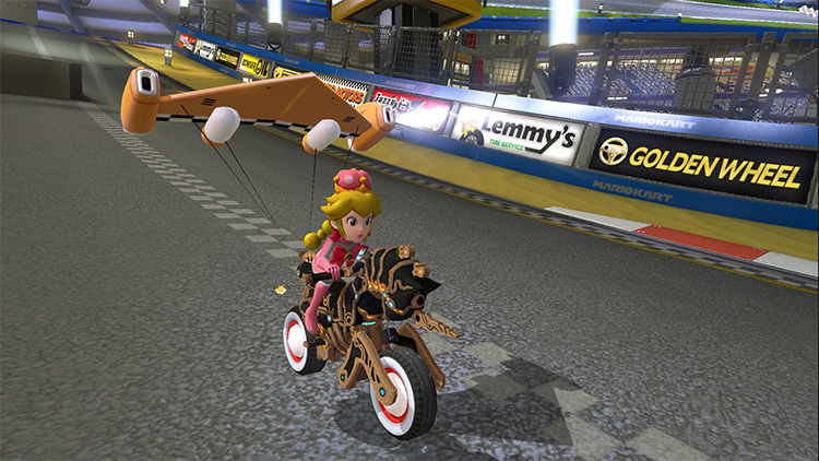 Peachette from Mario Kart Tour - MK8 mod