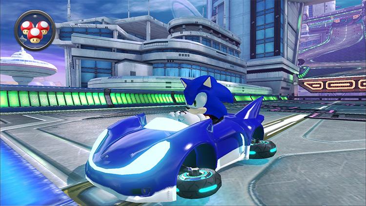 Sonic's Speed Star Car for MK8