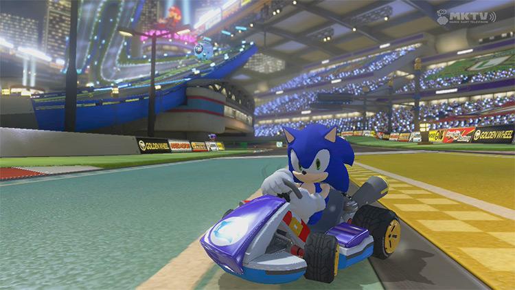 Sonic The Hedgehog mod for MK8