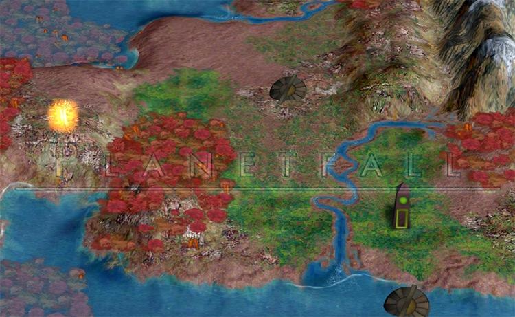 Planetfall Civ4 Mod