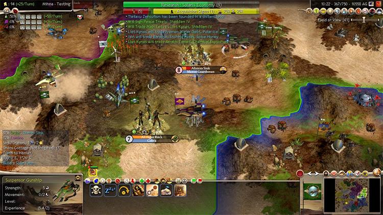Dune Wars Mod for Civ4