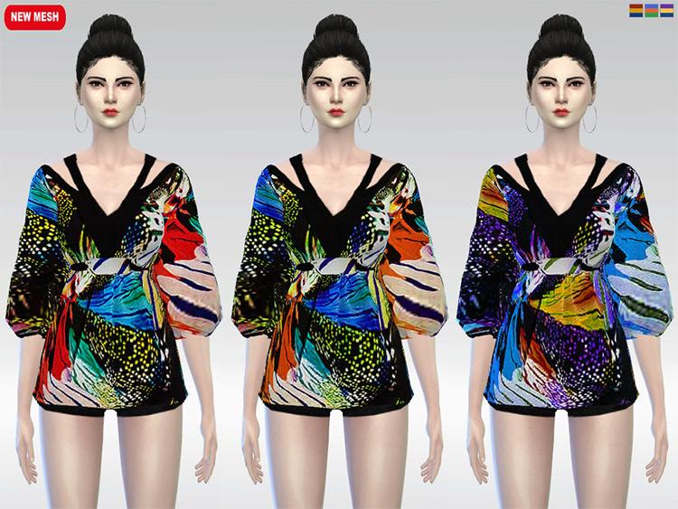 Mariposa Kimono Blouse CC