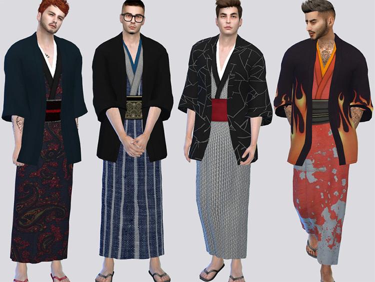 Sims 4 CC - Wano Robe