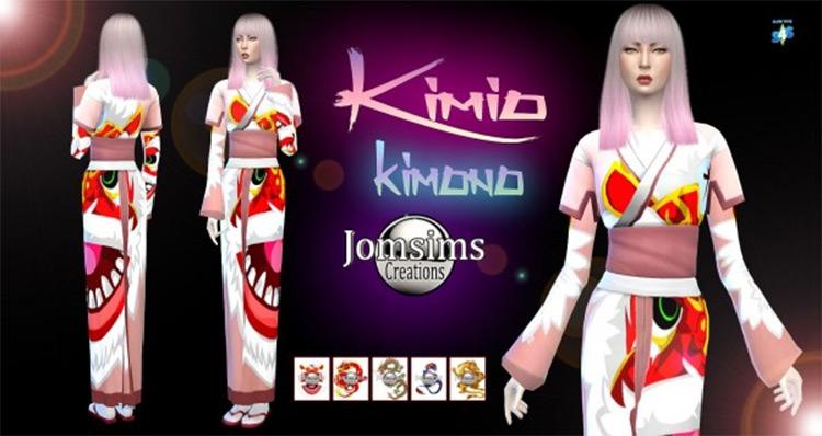 Sims Creations: Kimio Kimono