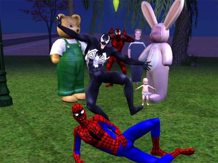 Venom CC Re-skin - The Sims 4