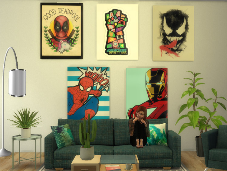 Marvel Painting CC