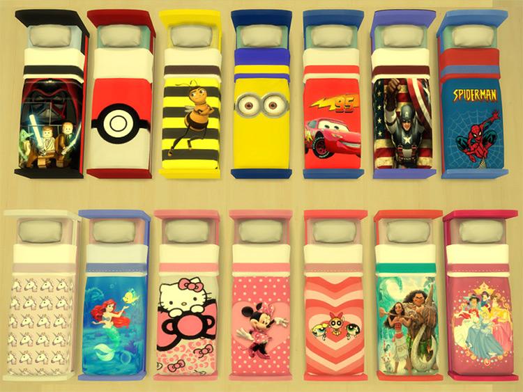 Children's Bed Recolor CC