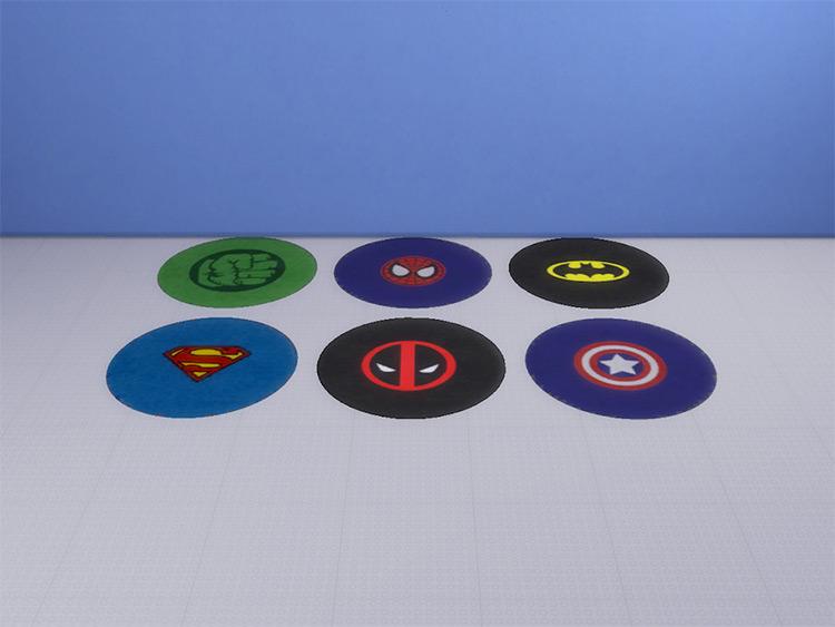 Superhero Rug Pack CC