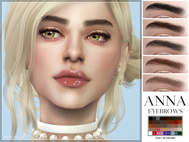 Anna Eyebrows in The Sims 4