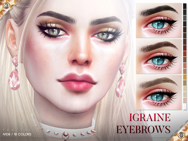 Igraine Eyebrows for The Sims 4