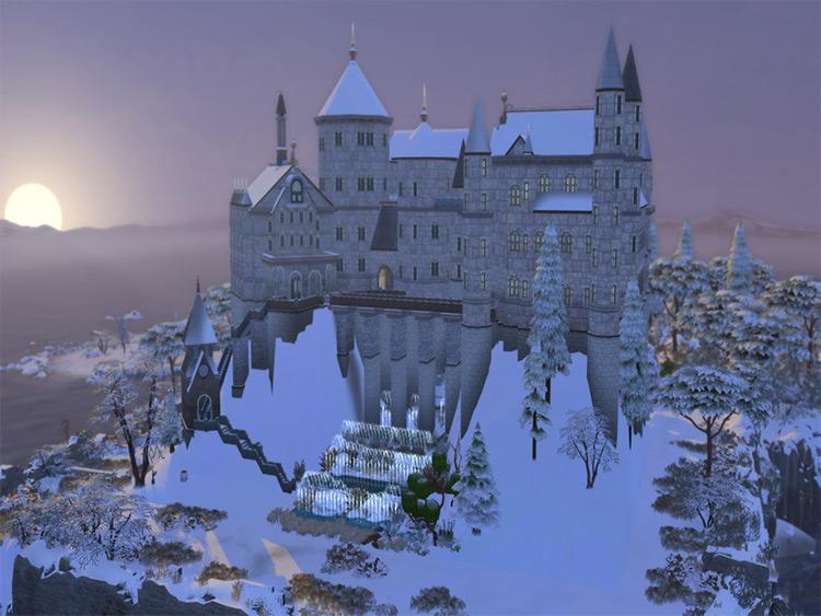 Hogwarts - Sims 4 CC