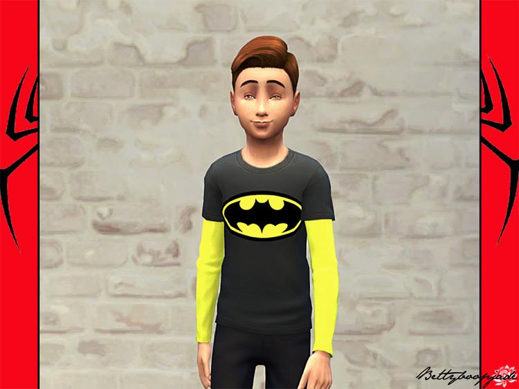 Super Sims Heros - Batman CC