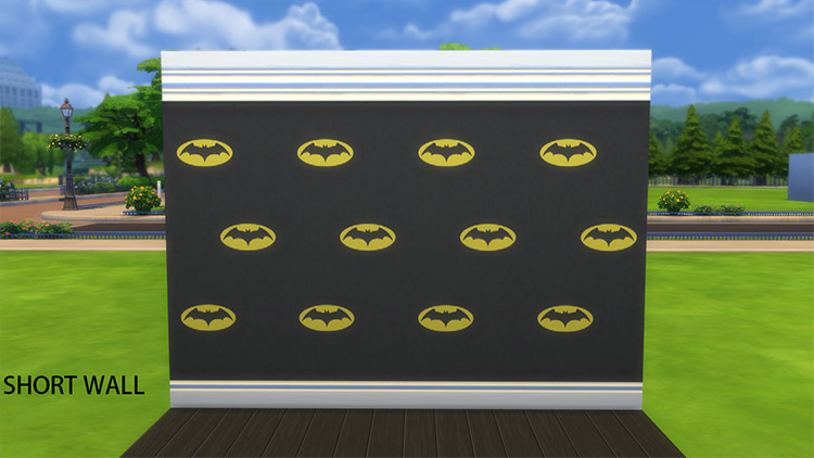 Batman Wallpaper CC - TS4