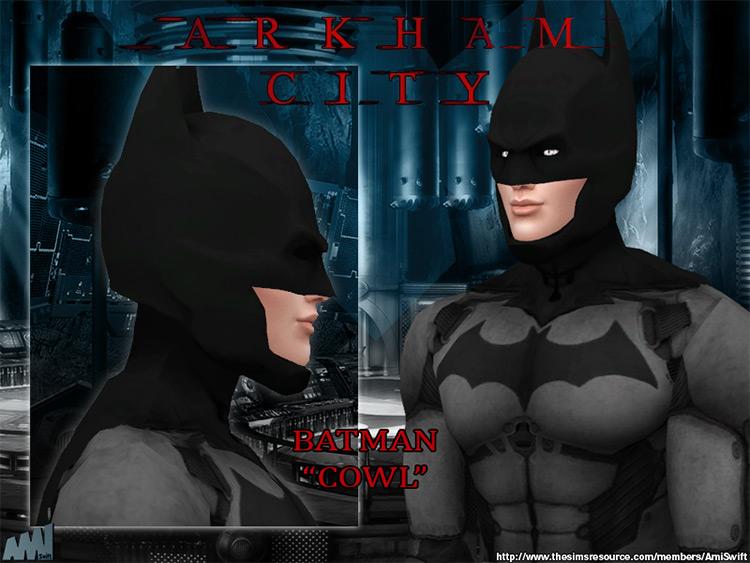 Arkham City Batman in Sims 4