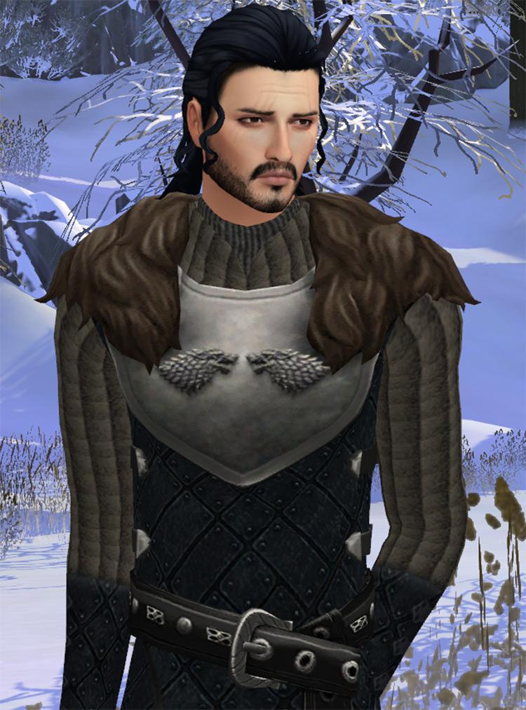 Jon Snow Character CC - TS4