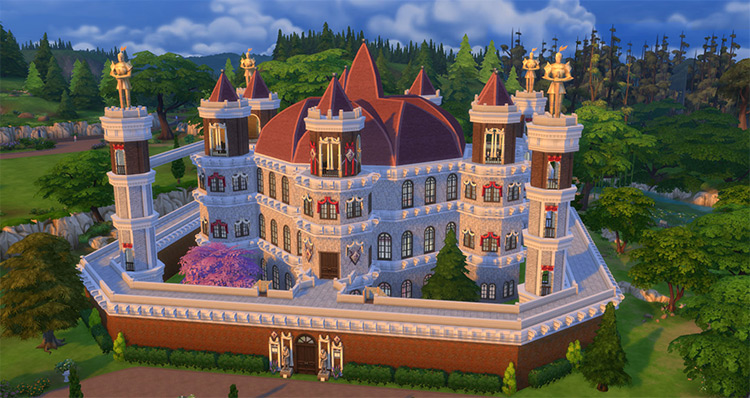Great Sept of Baelor - Sims 4 CC