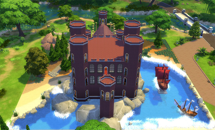 The Red Keep in The Sims 4
