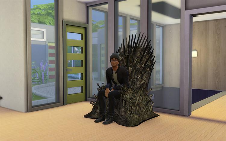 The Iron Throne - Sims 4 CC