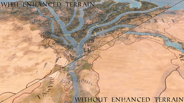 Enhanced Terrain mod screenshot