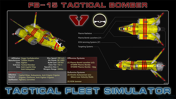 Tactical Fleet Simulator for Homeworld 2