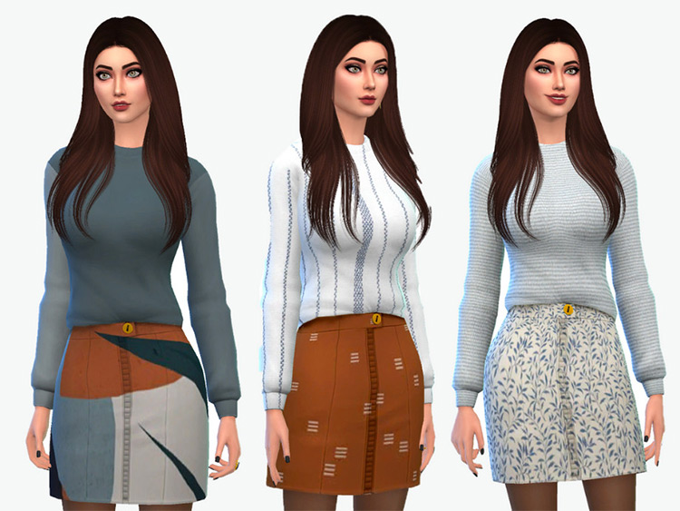 Fallon Sweater/skirt combo dressed-up
