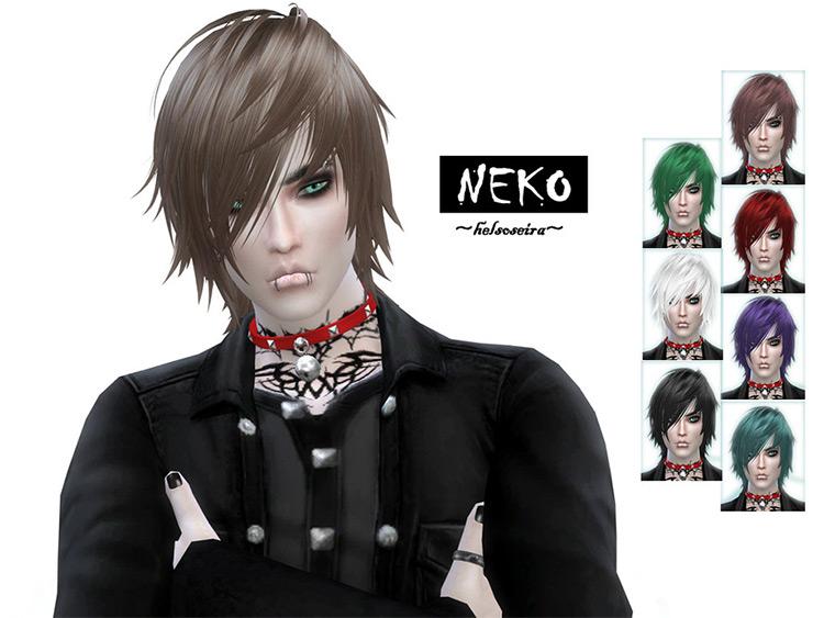 Kijiko Kitten Hair Sims 4 CC