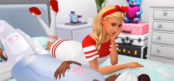 Sims 4 Screenshot - girls slumber party pajamas